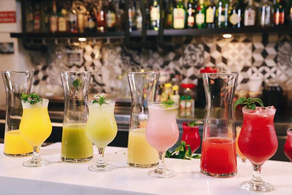 cập nhật công thức đồ uống