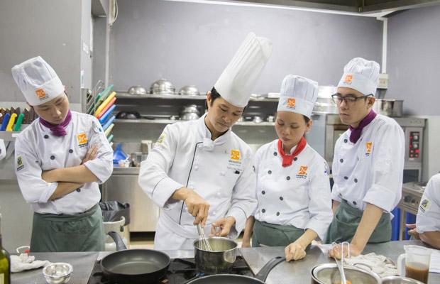 Thỏa mãn đam mê nghề bếp