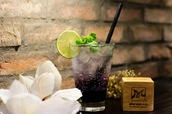 Cách làm Soda việt quất (Soda Blueberry) siêu ngon cho ngày thêm vui
