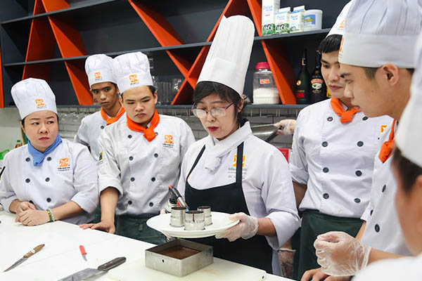 học phí nấu ăn