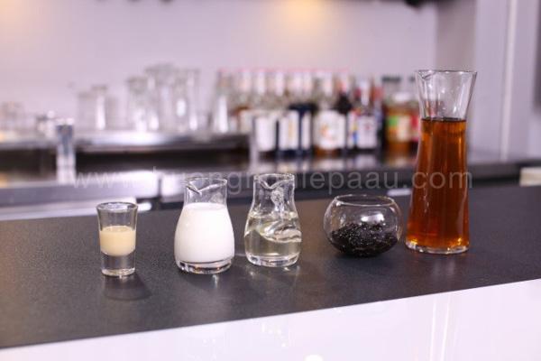 nguyên liệu chính pha chế đồ uống