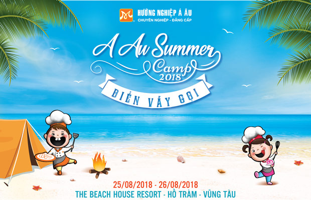 a au summer camp 2018 bien vay goi
