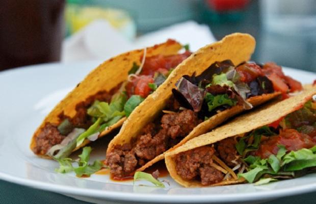 banh tacos cua am thuc mexico