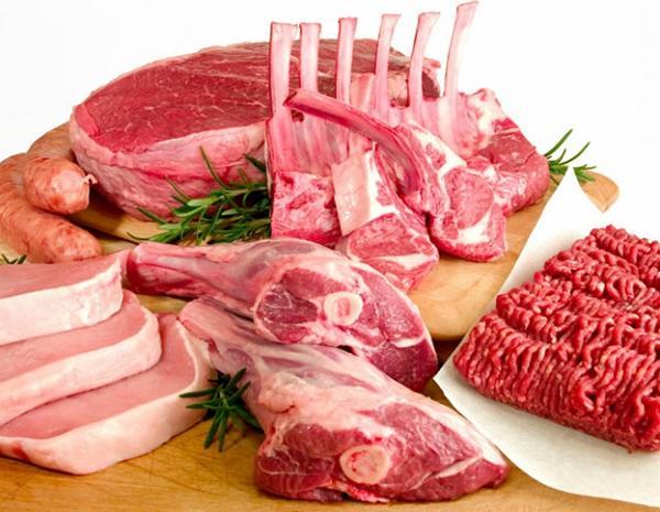 các loại thịt đỏ