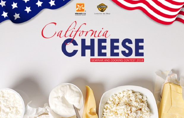 California cheese seminar and Cooking contest 2018