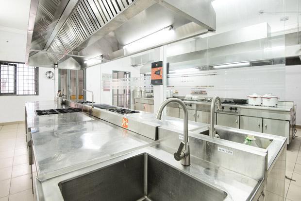 cơ sở học bếp trưởng