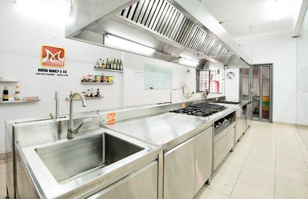 cơ sở vật chất bếp bánh