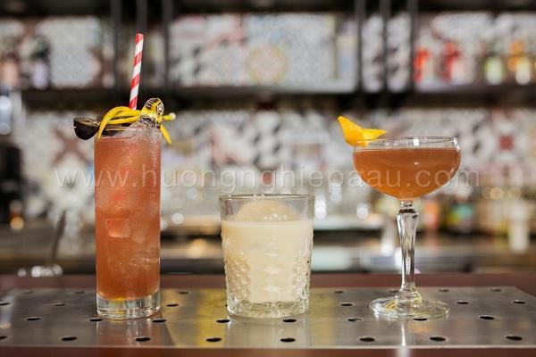 cocktail pha chế từ rượu vodka
