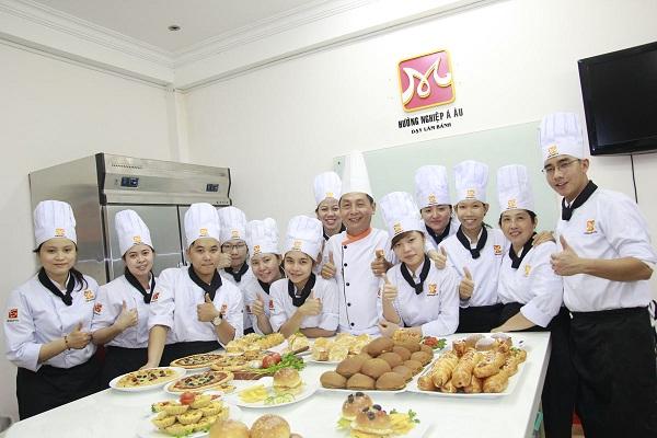 đào tạo nghề làm bánh