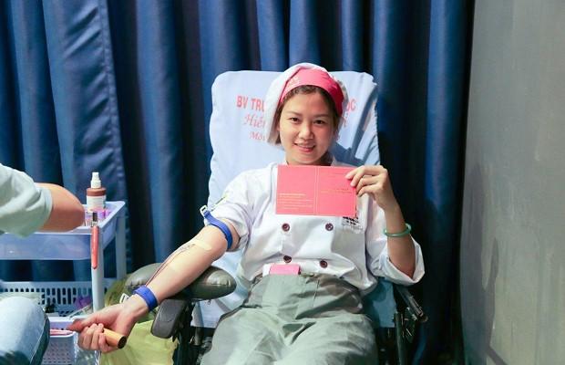 Hạnh phúc khi trao nguồn máu