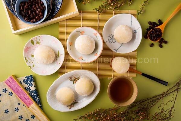 hinh anh banh mochi cream