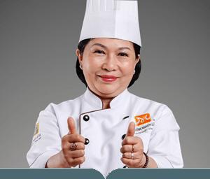 cô hồ thị việt mỹ giảng viên bếp bánh