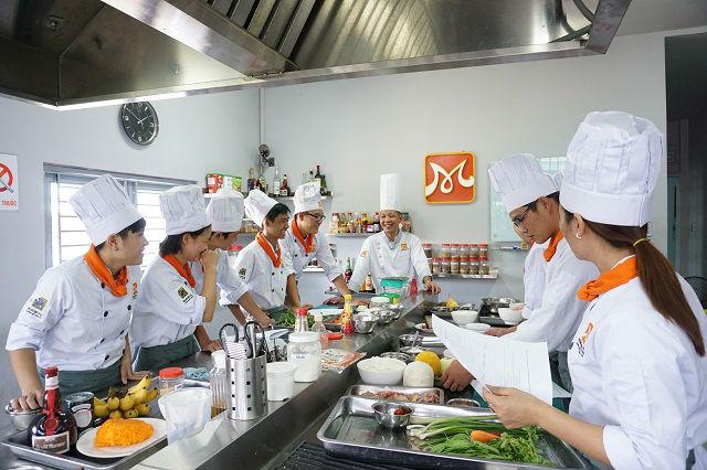 học bếp nghề của tương lai