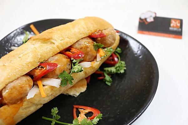 học làm bánh mì Việt Nam