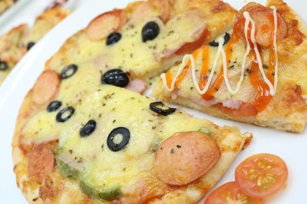 học làm bánh pizza hnaau