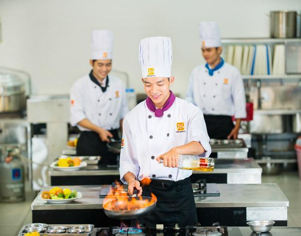 học nấu ăn chuyên nghiệp