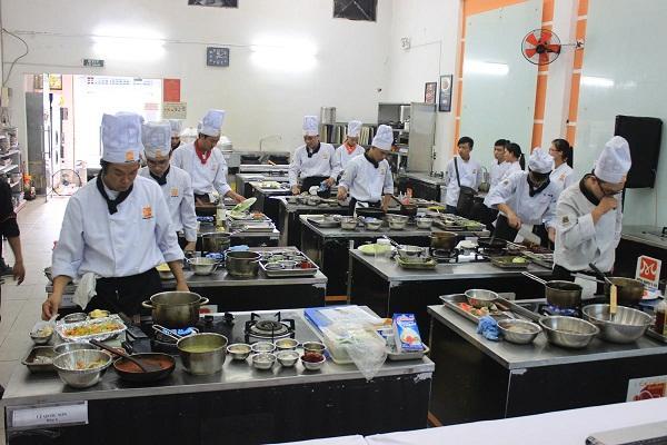 đào tạo nghề nấu ăn