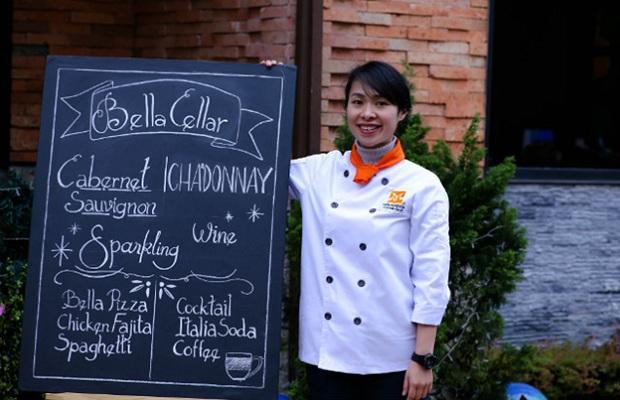 Huỳnh Thục Hải Tần – Cựu học viên khóa Nghiệp Vụ Bếp Trưởng