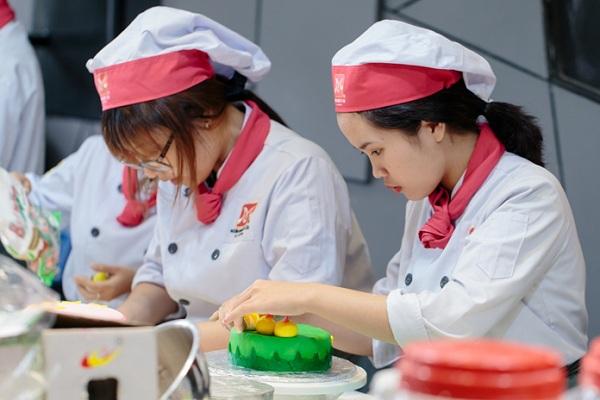 Lớp học làm bánh kem ở HNAAu