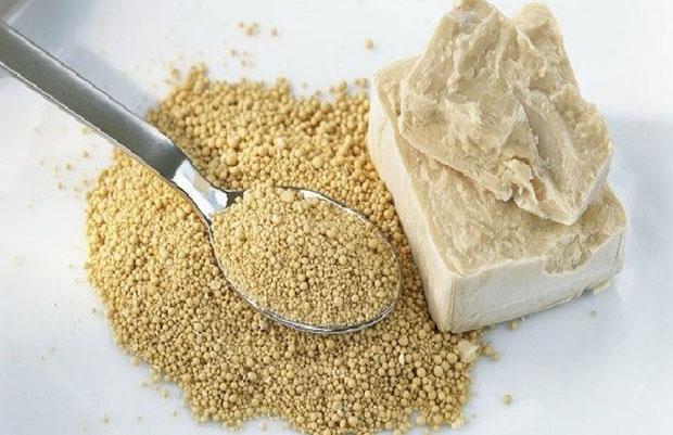 Sử dụng men bột mì làm sạch đồ sứ
