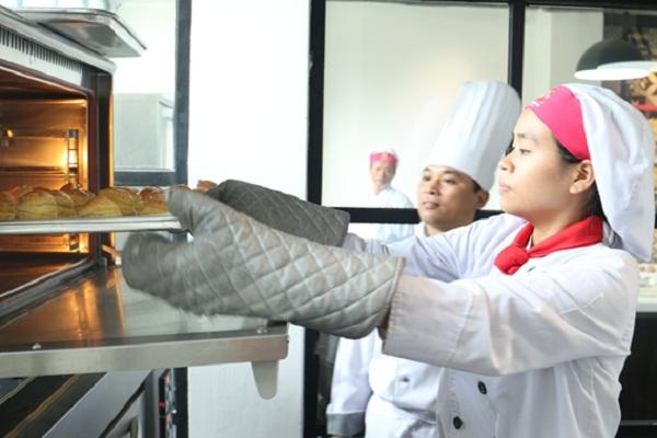 Mức lương của thợ làm bánh