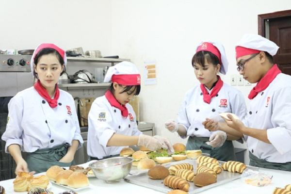 Mức lương trong nghề làm bánh