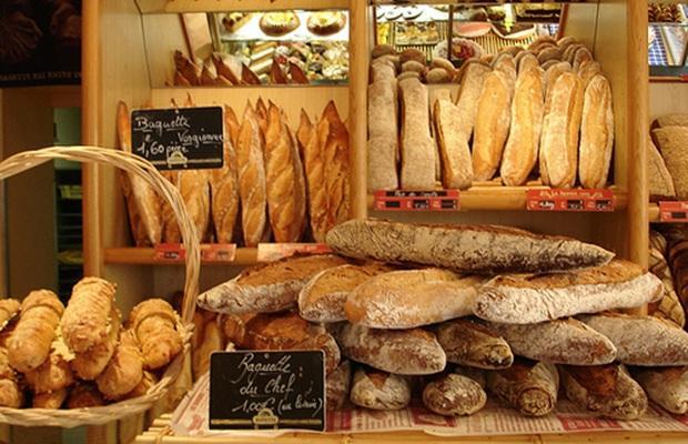 những loại bánh mì pháp baguette