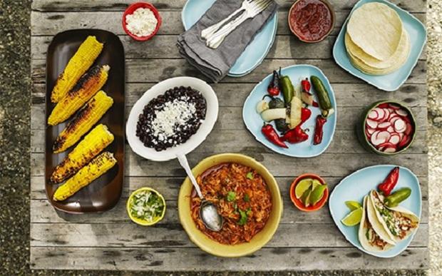 ớt giữ vai trò chủ đạo trong ẩm thực mexico