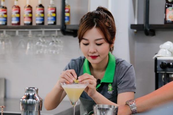 ribi sachi trang tri cocktail