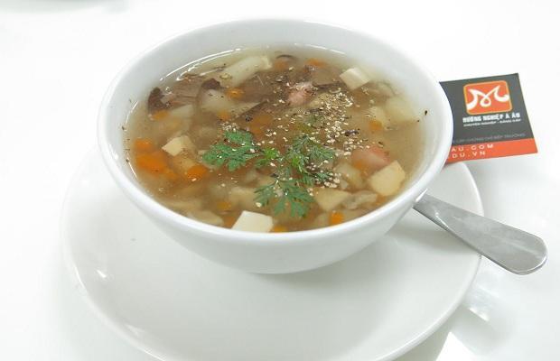 súp chay sơn hào hải vị