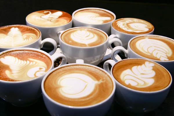 tách cafe của barista