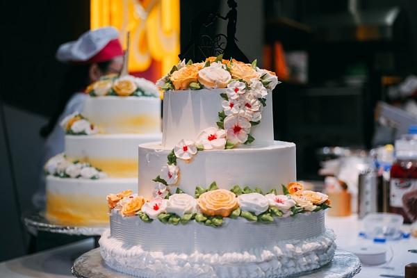 Thành phẩm bánh cưới