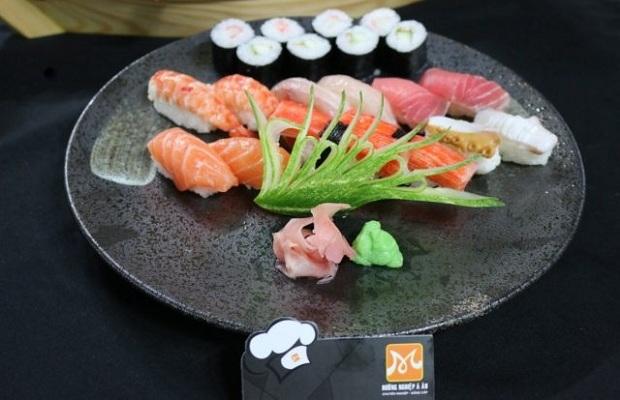 trình bày món ăn nhật kiểu hira mori