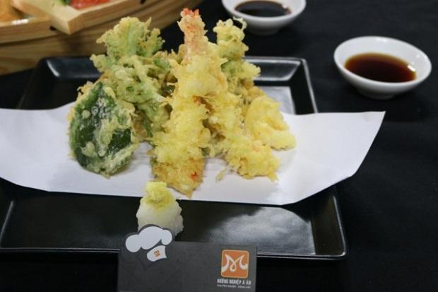 trình bày món ăn nhật kiểu yose mori
