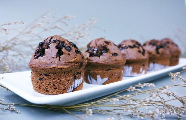 chocolate muffin làm mê mẩn