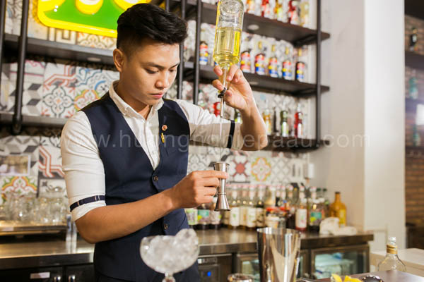 học pha chế bartender
