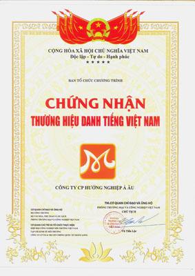 hnaau thương hiệu danh tiếng Việt Nam