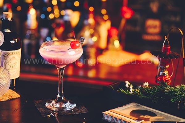 hương vị ly cocktail