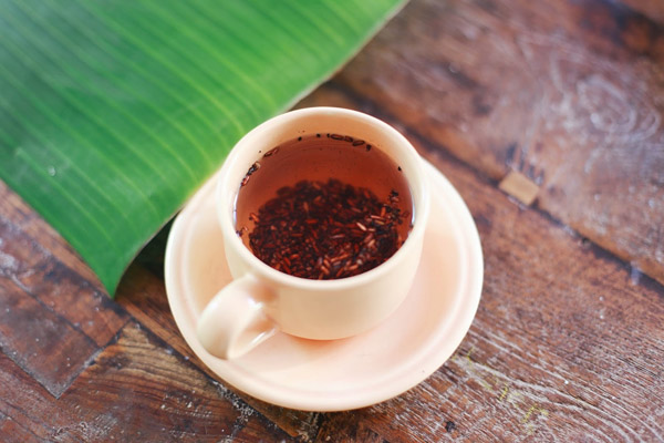 trà gạo lứt