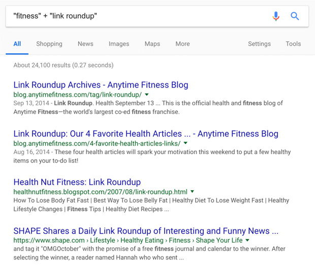 link roundups