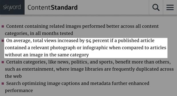 tận dụng hình ảnh video trong bài viết