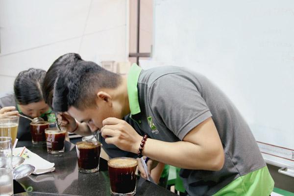 cảm quan các tầng vị của cafe