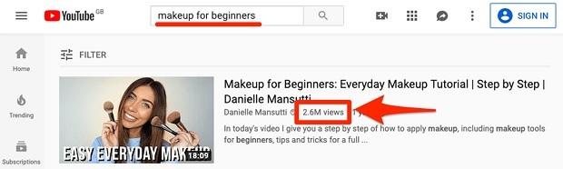 Vlogger Danielle Mansutti