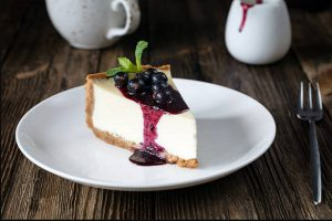 Blueberry Cheesecake mềm mịn