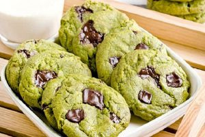 Cookie matcha chocolate