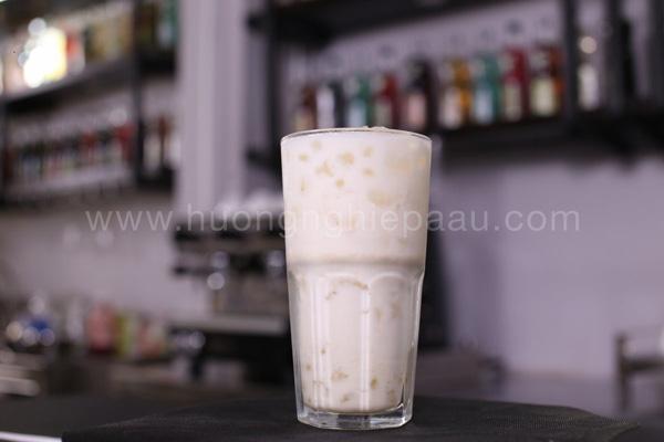 món trà ô long sữa dừa trân châu