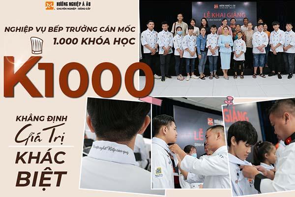 nghiệp vụ bếp trưởng k1000