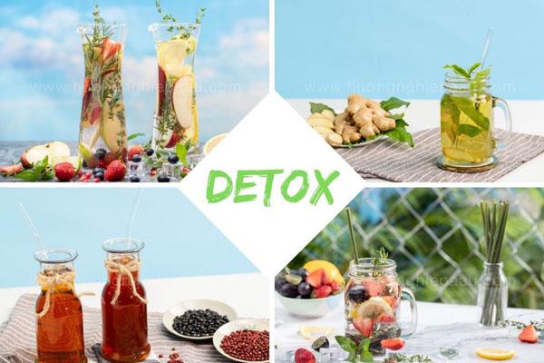phương pháp detox sử dụng phổ biến