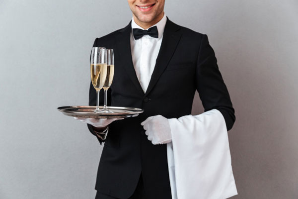 thu nhâp phục vụ bàn