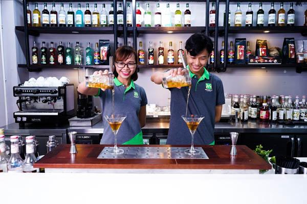 trở thành bartender chuyên nghiệp